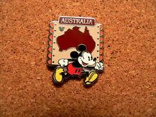 Mickey Australia Disney Pin - 2012 Hidden Mickey Completer - Continent Coll.