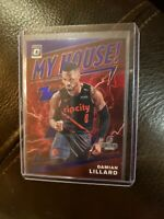 2019-20 Donruss Optic My House Damian Lillard Purple.