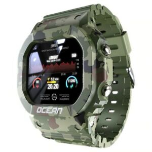 Smart Waterproof Military Watch Bracelet Band for IOS Android Men S Wrist Watch