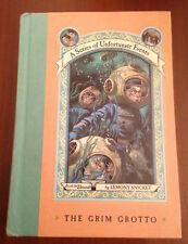 SIGNED 1st/1st Lemony Snicket THE GRIM GROTTO #11 Series of Unfortunate Events