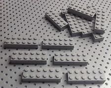 Lego Light Bluish Grey 2x6 Brick (2456) x4 in a set *BRAND NEW* Star Wars City
