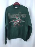 Vintage Roanoke Express Hockey Sweatshirt Star City PolyCotton Blend Large