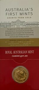 2016 - Australia First Mint Unc Carded $1 coin. RAM