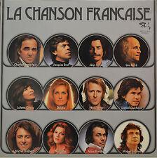 """LA CHANSON FRANÇAISE - ARTISTES DIVERS - LP 12"""" (S) 632)"""