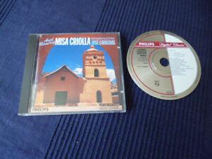 CD Jose Carreras Ariel Ramirez Misa Criolla Navidad Nuestra Philips W-Germ PDO