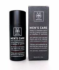 APIVITA Mens Natural Anti Wrinkle-Fatigue Face & Eye Cream Propolis Cardamo 50ml