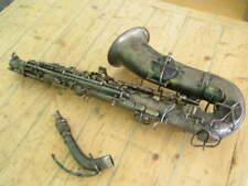 C G Conn LTD Elkhart Ind USA Alto Saxophone A m220499 L  Pat 1914