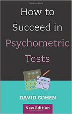 How to Succeed in Psychometric Tests, New, Cohen, David Book