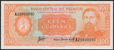 Paraguay/paraguay 100 guaranies l.1952 pick 199b (1)