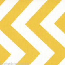 Tessuti e stoffe gialli Chevron per hobby creativi