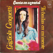 GIGLIOLA CINQUETTI - Tu bailas en mi mente * SINGLE SPAIN 1972 SUNG IN SPANISH