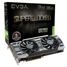 Three EVGA GeForce GTX 1080 8GB GDDR5X Superclocked Graphics Cards NIB