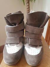 Isabel Marant Beckett Hidden Wedge Sneakers Size 5