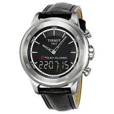 Tissot Touch Collection Black Leather Mens Watch T0834201605100-AU