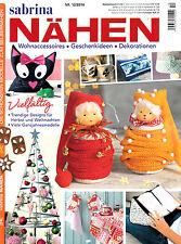 Sabrina coser 12/2014 muchos años muy modelos-otoño & weihnachtsideen