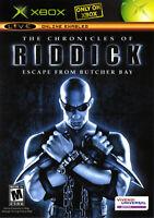 🔥 Chronicles of Riddick Xbox OG  Complete CIB