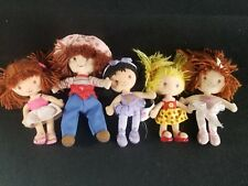 5 Strawberry Shortcake Doll 7in Plush Stuffed Toy Bandai and others