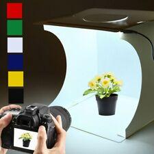 40cm Double LED Light Room Photo Studio Photography Lighting Tent Backdrop Box