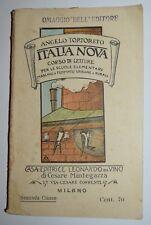 SCUOLE ELEMENTARI - fig. primi '900 - corso di letture - ITALIA NOVA