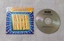 "CD AUDIO MUSIQUE INT / SCOOTER ""HYPER HYPER"" 1994 CD SINGLE 2T SCORPIO MUSIC"