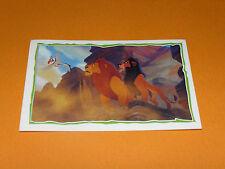 N°120 PANINI LE ROI LION 1994 DESSIN ANIME WALT DISNEY LION KING SIMBA MUFASA
