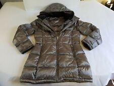 Andrew Marc Premium Down Feather Puffer Parka Jacket Hooded 650 FILL Power 0 Deg