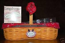 Longaberger BBQ Buddy Basket Super Combo ~SIGNED~ Mint