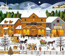 "Charles Wysocki,""Christmas Eve"" SN COA"