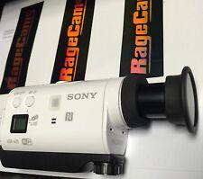 SONY HDR-AZ1 W/35MM LONG RANGE TELE-PHOTO MAGNIFIED ZOOM IN LENS