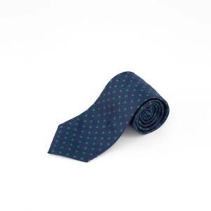 Tommy Hilfiger Men's Mont Classic Dot Tie Navy/Green