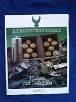 HARLEY DAVIDSON MOTORCYCLES FASHIONS & COLLECTIBLES 1988 CATALOG SALES BROCHURE