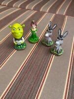 Shrek Mini-bobbleheads, Shriek, Princess Fiona, Donkey (2)
