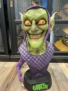 Sideshow Collectibles Green Goblin 1:1 Life Size Bust Statue Spider-Man