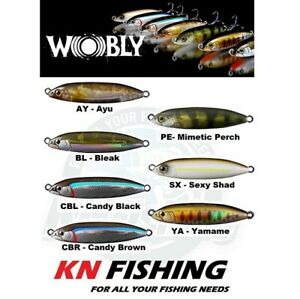 FISHUS LURENZO WOBLY HARD LURES SINKING 62mm 16gr
