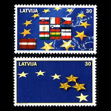 Latvia 2004 - New Members of the European Union - Sc 592/3 MNH