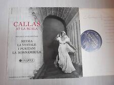 33CX 1540 COLUMBIA / CALLAS AT LA SCALA / HER GREAT OPERA REVIVALS / EX