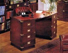 Incredibile Offerta  scrivania + poltrona pelle stile marina mogano