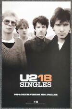 U2 18 Singles 2006 PROMO POSTER