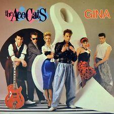 """7"""" THE ACE CATS Gina / Nur einmal NDW 45rpm Rockabilly CBS NL 1985 NEUWERTIG!"""