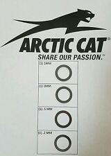 Arctic Cat 350, 366, 400, 425, 450, 500 ATV primary clutch shim mod Super kit S