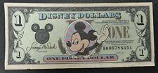 1991 Disney Dollar Mickey & Sleeping Beauty's Castle VF Condition - b