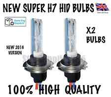 2X XENON HID BULBS 35W H7 METAL BASE 4300K 5000K 6000K 8000K 10000K 12000K