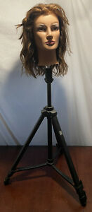Pivot Point Tripod With Mannequin Head For Beauticians