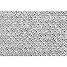 JTT Scenery Products 1:48 O-Scale Diamond Plate Pattern Sheet, 2/pk 97450