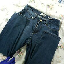 VINTAGE NICKI MINAJ stretch jeans sZ 11/12 mid-rise ++condition Gems on rear!