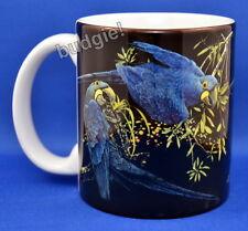 Hyacinth MACAW Pair Two Blue Macaws Parrot Bird Mug BIRDS - Dishwasher Safe