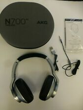 AKG N700NC Over-Ear Foldable Wireless Headphones Silver EXCELLENT (B-37)