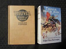 1920 Oct THUVIA MAID OF OF MARS by Edgar Rice Burroughs HC VG 4.0 G&D REPRO DJ