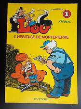 Lou L'héritage de Mortepierre N° 1 EO 1979 BE+ à TBE