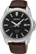 Seiko Classic Stainless Steel Mens Quartz Watch SGEH49J2. 100M WR. MADE IN JAPAN